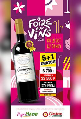 Foire Aux Vins – Casino et Hyper Hayat