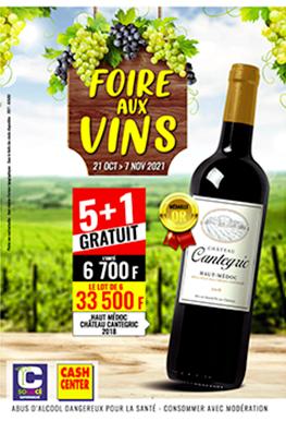 Foire Aux Vins – Sococé et Cash Center